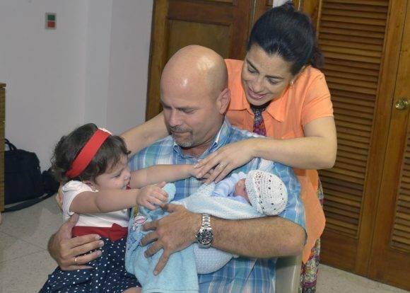 Adriana, Gerardo, Gema, y Gerardito. Foto: Estudios Revolución