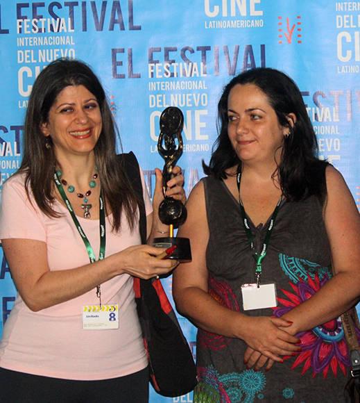 La entrega de los premios colaterales del Festival Internacional de Cine de La Habana tuvo lugar en la Sala Taganana del Hotel Nacional. Foto: José Raúl Concepción/ Cubadebate.