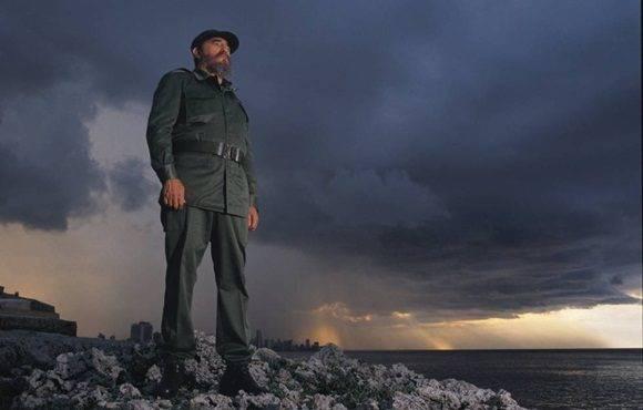 Fidel Castro posa con La Habana al fondo, en 1994. jerad rancinan