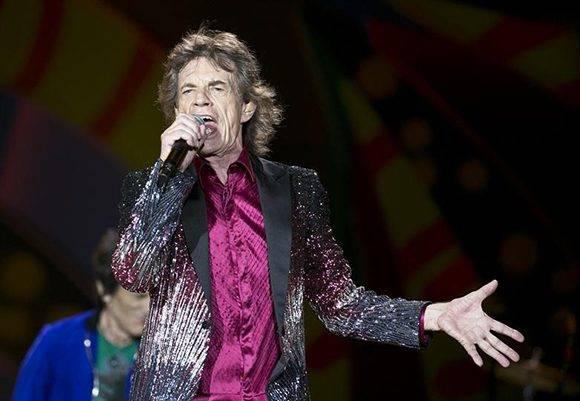 Los Rolling Stones dieron un mítico recital en Cuba. Foto: AP/ Enric Marti.