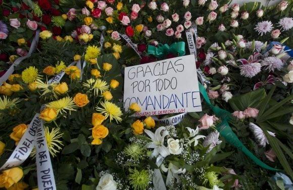 Gracias por todo Fidel. Foto: Ladyrene Pérez.