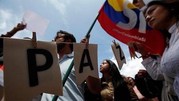 Imágenes representativas del proceso de paz en Colombia. Foto: Archivo