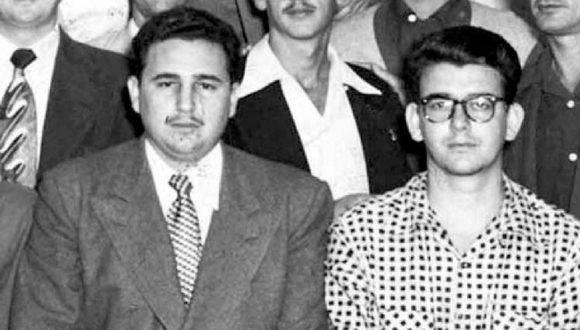 Fidel y Abel. Foto: Archivo