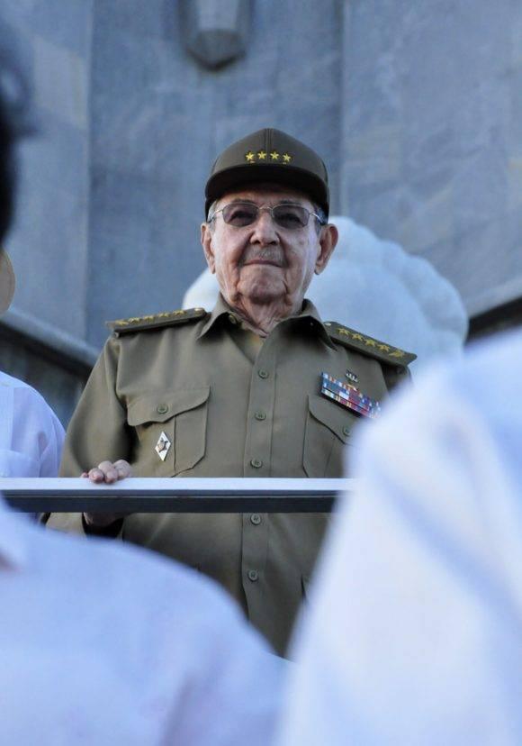 El General de Ejercito Raúl Castro Ruz. Foto Roberto Garaicoa/ Cubadebate