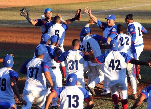 Granma Campeón de la 56 Serie Nacional de Béisbol. Foto: Ricardo López Hevia / Granma / Cubadebate