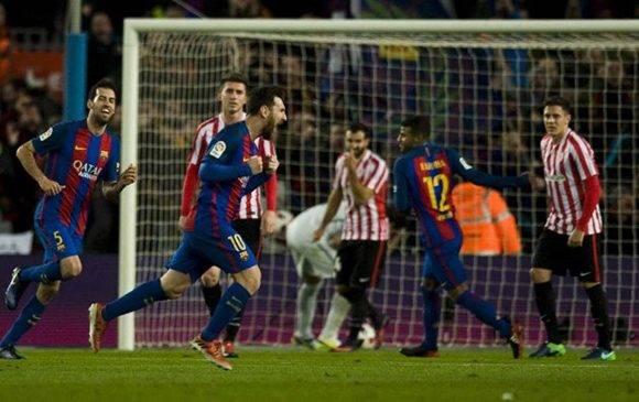 ... Y Messi puso el definitivo. Foto tomada de Marca.