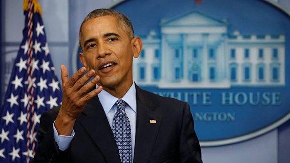 Obama terminó su mandanto con el tercer índice de popularidad más alto de la historia de EEUU, según encuestas. Foto: Kevin Lamarque/ Reuters.