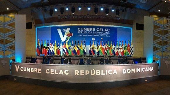 Todo listo en República Dominicana para V Cumbre de la Celac. Foto: @PresidenciaRD/ Twitter.