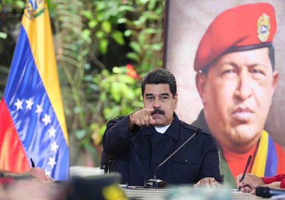 """""""No tiene límites esta Asamblea autodisuelta"""", manifestó el presidente de Venezuela. Foto: @CuatroFDigital."""