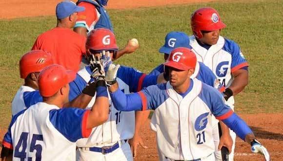Granma barrió a Ciego de Ávila y se coronó campeón nacional del béisbol cubano. Foto: Osvaldo Gutiérrez/ ACN.