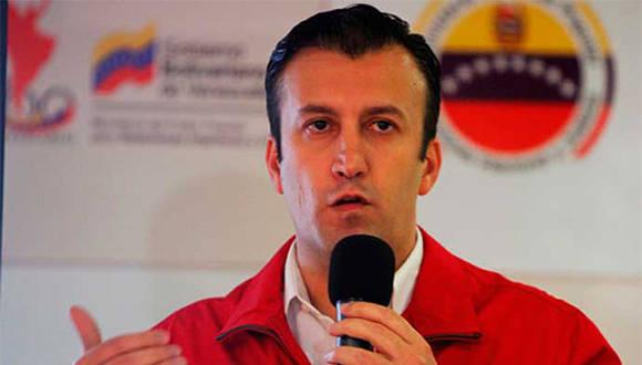 Tareck El Aissami es el nuevo Vicepresidente Ejecutivo de Venezuela. Foto: AVN.