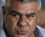 """""""Debemos refundar el fútbol argentino"""", dijo Tapia al asumir la presidencia de la AFA. Foto: AFP."""