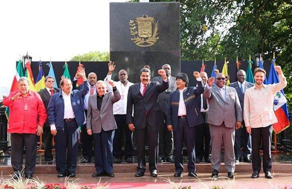 Resultado de imagen para Declaración de la XIV Cumbre de Jefes de Estado y de Gobierno del ALBA-TCP