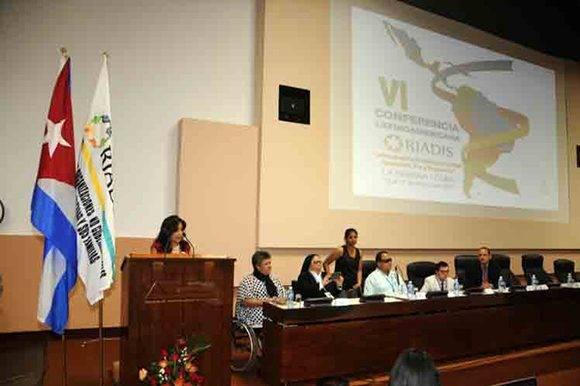 La Red Latinoamericana de Organizaciones No Gubernamentales de Personas con Discapacidad y sus Familias (Riadis) celebró su VI Conferencia esta semana. Foto: ACN.
