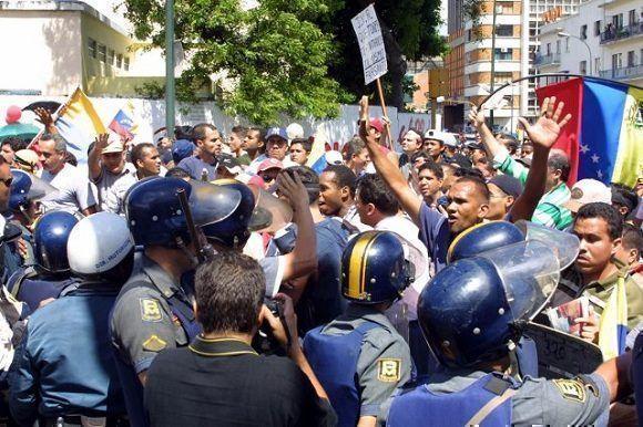 Miles de venezolano salieron a las calles a exigir el regreso de Chávez. Foto: Archivo.