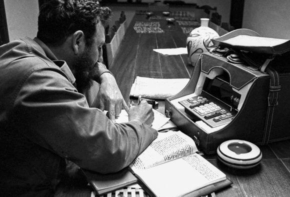 Fidel en la antigua provincia de Oriente (1970). Foto: Liborio Noval.