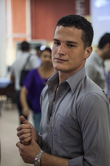 Andy García, Director del Espacio Exposición de Tecnologías. Foto: L Eduardo Domínguez/ Cubadebate.