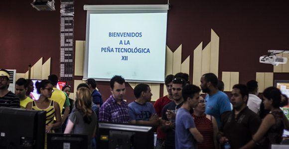 XII Peña Tecnológica de la UCI. Foto: L Eduardo Domínguez/ Cubadebate