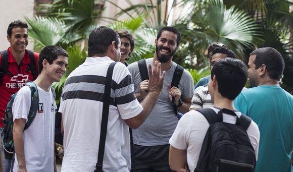 Las anécdotas del ACM se recuerdan con gran felicidad. Foto: L Eduardo Domínguez/ Cubadebate.