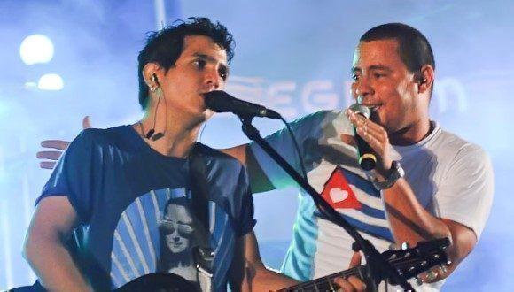 Dúo Buena Fe. Foto: ACN.