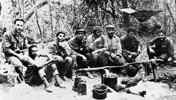La guerrilla del Che la integraron, en su mayoría, combatientes cubanos y bolivianos.