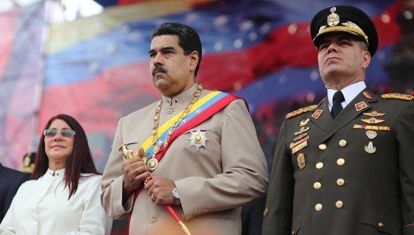 Nicolás Maduro en el acto por el 196 aniversario de la batalla de Carabobo. Foto: @PresidencialVen