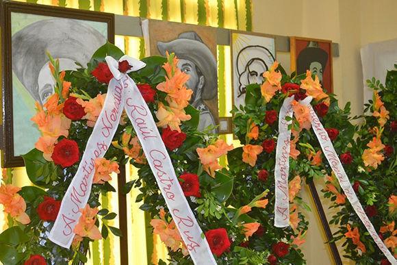 Las cenizas de Fernando Martínez Heredia descansan desde este viernes en su tierra natal. Foto: Yoán Blanco Borroto/ Escambray.