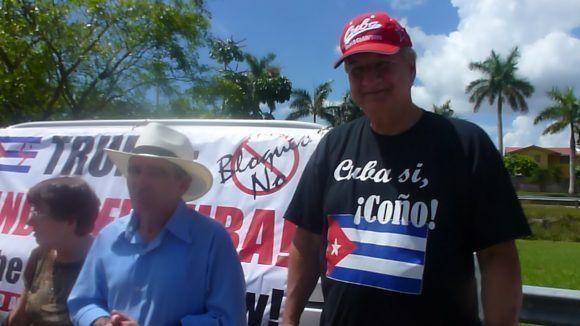 Caravana en Miami. Foto: Radio Miami