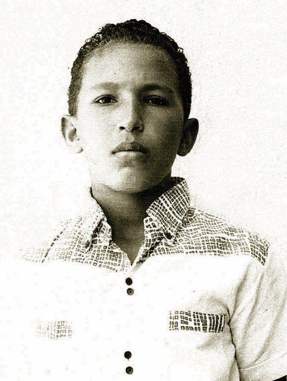 Chávez en Barinas, su tierra natal. Foto: Archivo.