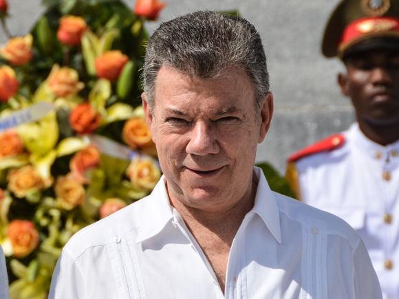Juan Manuel Santos en Cuba. Foto: Marcelino Vázquez Hernández/ ACN.
