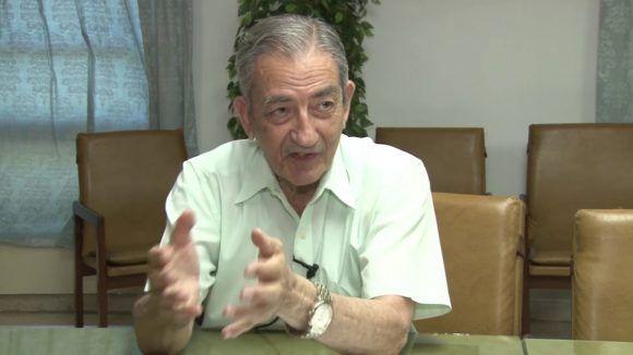 José Ramón Balaguer. Foto de la autora / Cubadebate