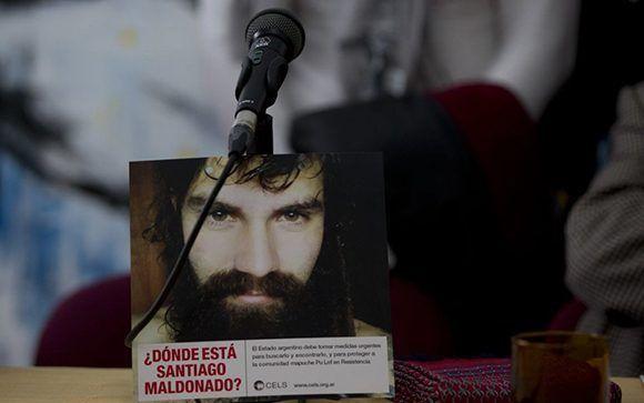 La Comisión Interamericana de Derechos Humanos intervendrá en el caso por la desaparición de Santiago Maldonado. Foto: Diario Popular.