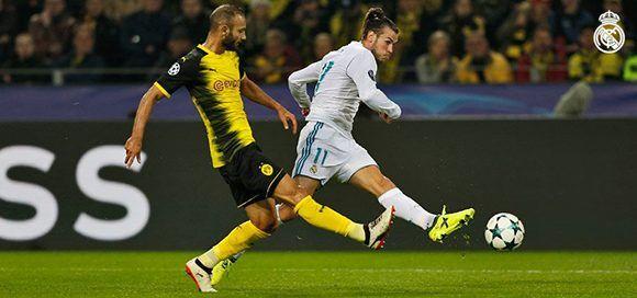 Bale tuvo un gran partido. Foto: @realmadrid.