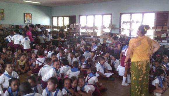 Escuela primaria José Martí del Reparto Buenavista de Marianao Foto: Néstor del Prado