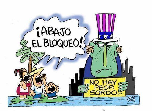 Resultado de imagen para Imagenes de Trump y el bloqueo a Cuba