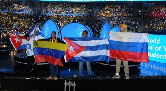 Inauguración del XIX Festival Mundial de la Juventud y los Estudiantes. Foto: Luis Mario Rodríguez Suñol / Cubadebate