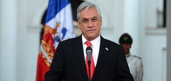 Sebastián Piñera, le favori des Chiliens. Photo: EFE.