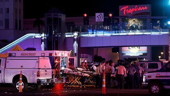 El incidente tuvo lugar durante un festival de música country. Foto: Steve Marcus / Reuters