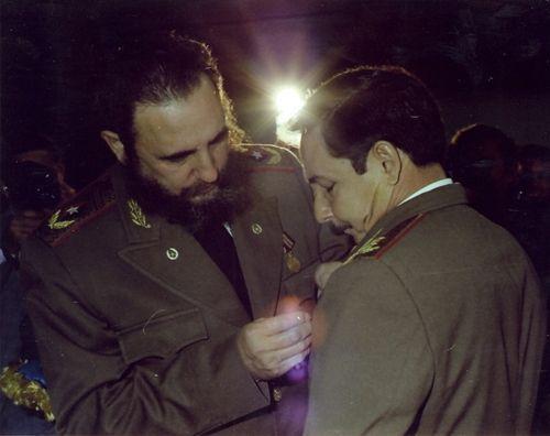 Fidel, el 25 de noviembre de 1976.
