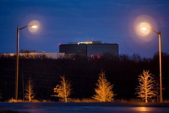 La sede de la Agencia de Seguridad Nacional en Fort Meade, Maryland. Foto: Jim Lo Scalzo/ Agencia Francesa de Prensa.
