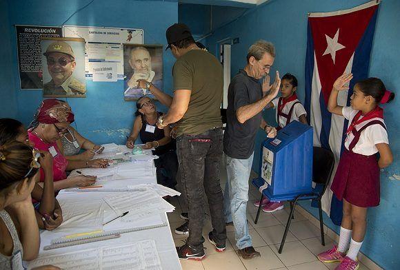 Elecciones 2017. Foto: Ismael Francisco/ Cubadebate