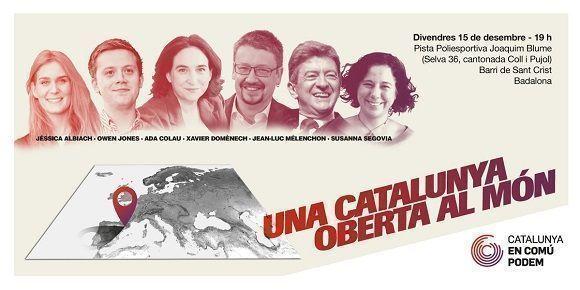 """Coalición política """"En Común-Podem"""". Foto:  @CatEnComu_Podem/Twitter"""