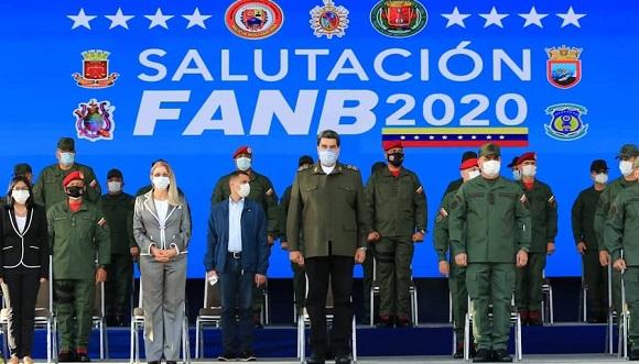 """Maduro ordenó la implementación """"en 24 horas"""" de un plan denominado 'Punto 3' para """"la fortificación y protección"""" de los espacios militares del país. Foto: Noticias Hoy Venezuela"""