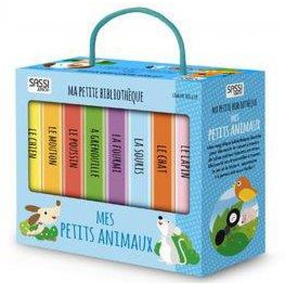ma petite bibliotheque mes petits animaux
