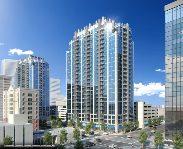 Houston rising Another new luxury apartment tower going