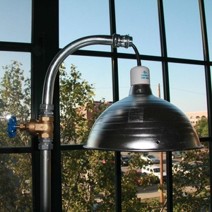 Bright Idea How To Make A Cool Industrial Pipe Lamp