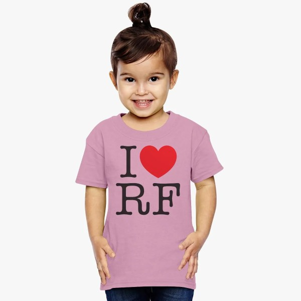 Love Roger Federer Toddler T-shirt - Customon