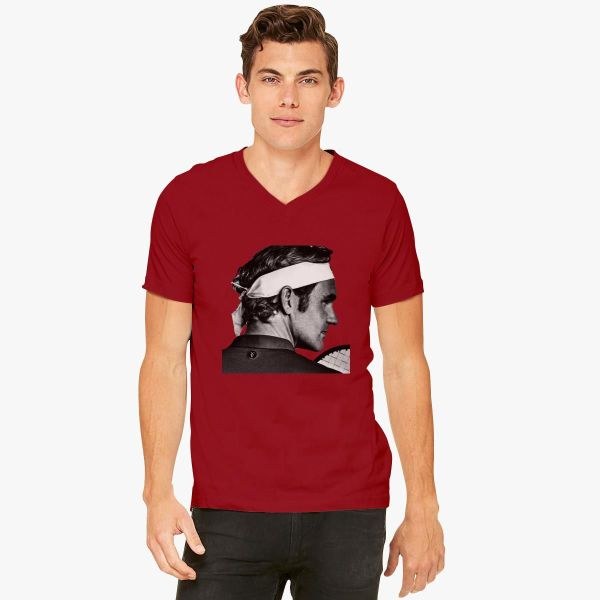 Roger Federer -neck T-shirt - Customon