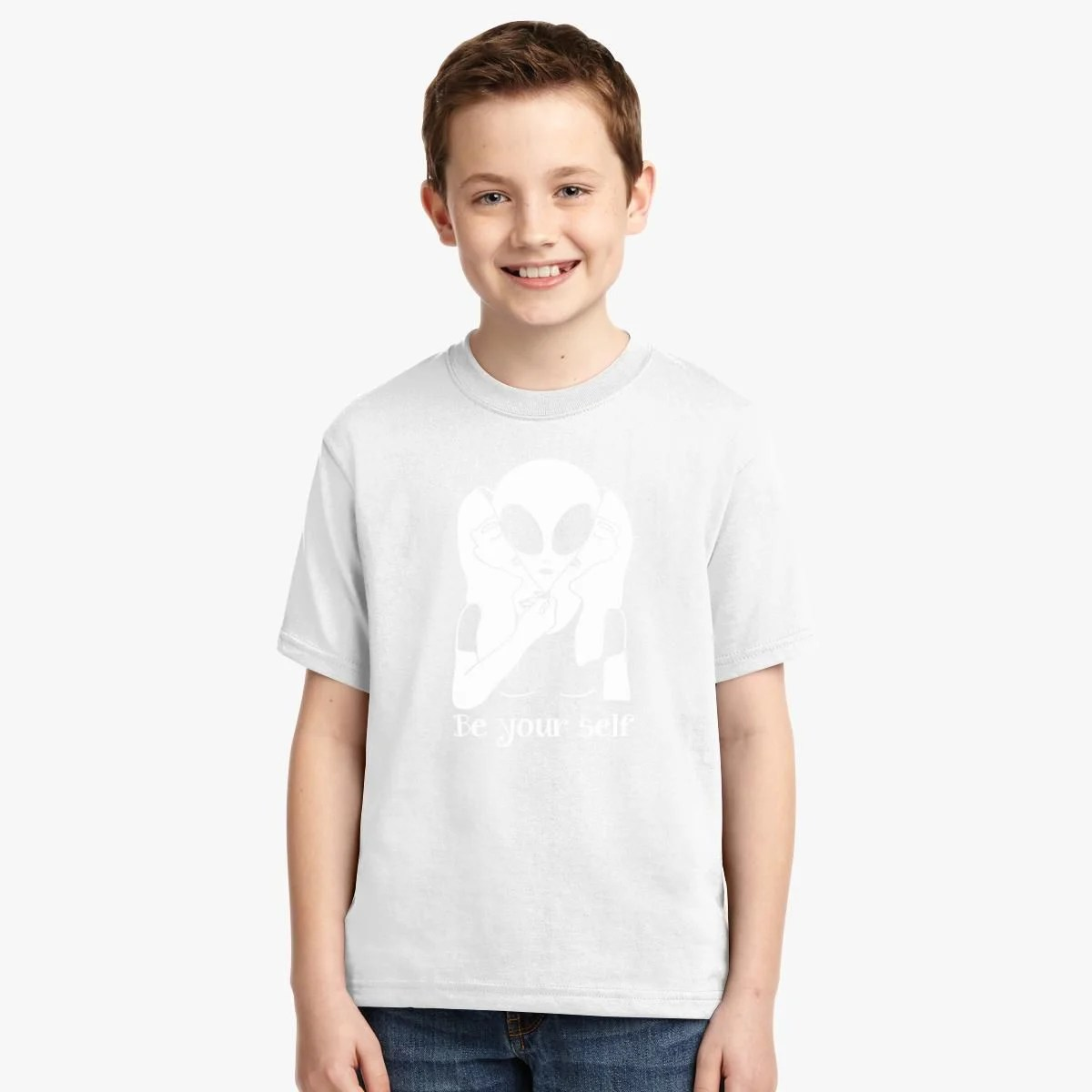 Be Yourself Girl Youth T Shirt