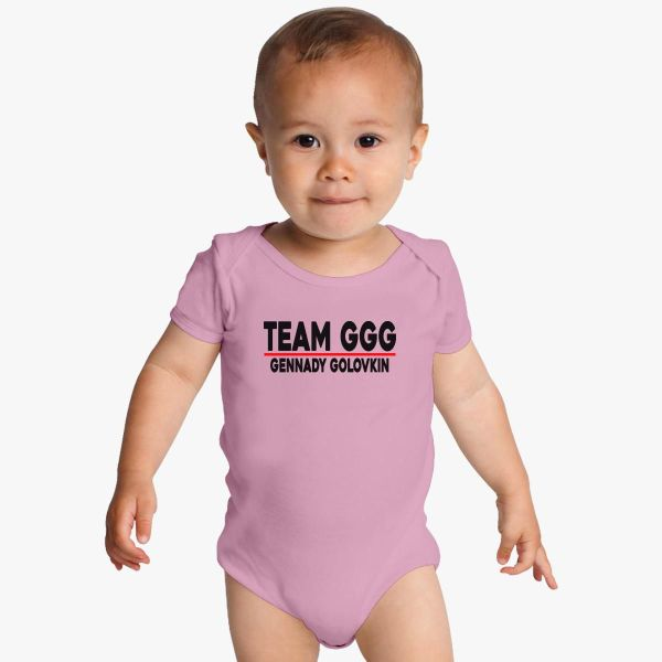 Team Ggg Gennady Golovkin Baby Onesies - Customon